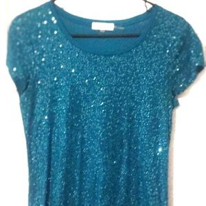 CALVIN Klein sequin top!